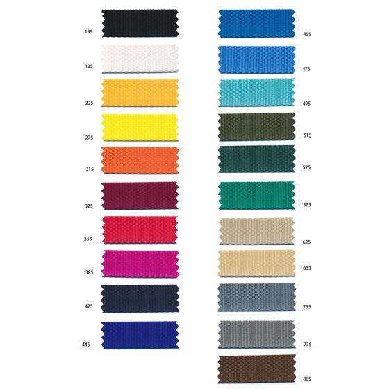 1m hochwertiges Gurtband 30mm,16 Farben